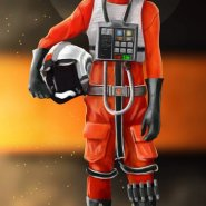 Lachlan - X-Wing Fighter Pilot