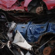 Demise of a blue Ford