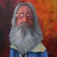 Artist Bob Mills
