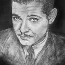 Clark Gable - young