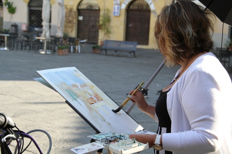 Watercolour Painting Holiday Workshop Lucca Italy