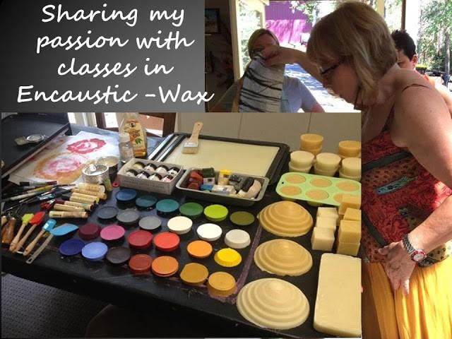Encaustic-Wax painting classes