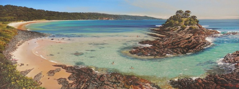 Magic island, Seal rocks, mid north coast of NSW