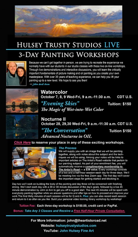 Learn to paint like a pro with John Hulsey