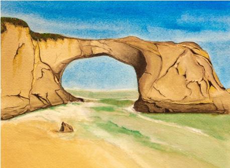 Santa Cruz California Arch