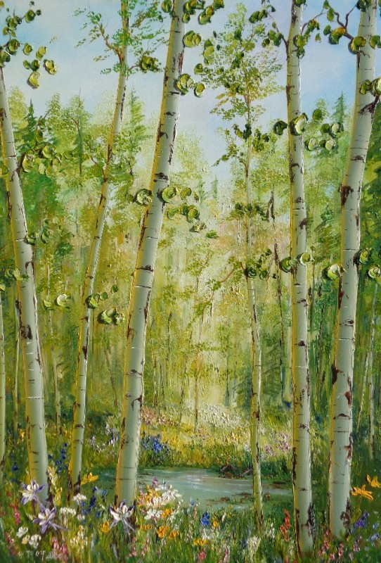 60X40  Springtime on the Gore, Vail.jpg