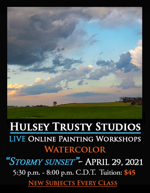 Watercolor Master Class with John Hulsey