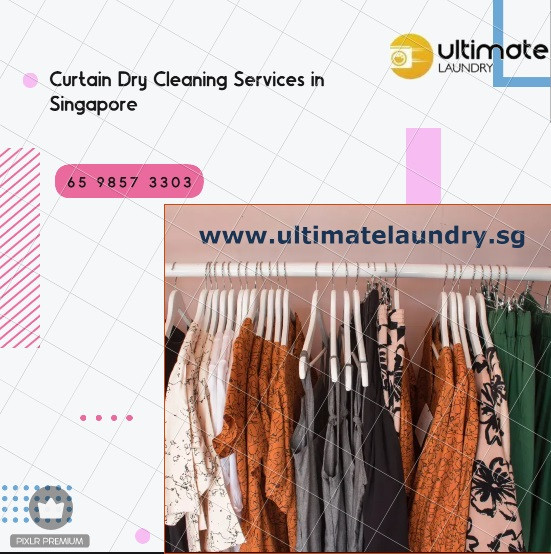 Curtain Dry Cleaning Services in Singapore