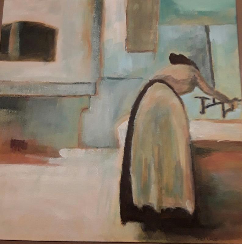 Woman at Tap