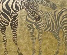 Place Of The Zebra 140x140cm