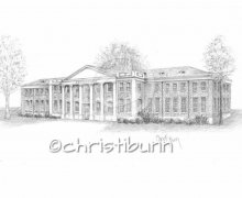 Commissioned Home Drawing Portraits by Christi Bunn
