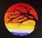 Australian Outback Silhouettes series