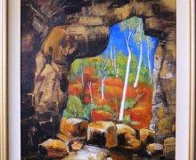 Cave Entrance image 60cmx50cm + FRAME