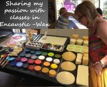 Encaustic-Wax painting classes