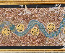 Aboriginal Art - Kimba the crying orphan