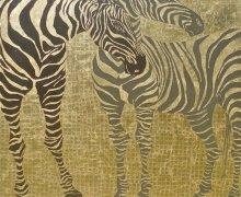 Place of the Zebra 140x140cm $5200