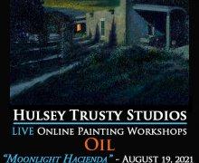 Moonlight Hacienda Online Oil Class