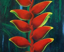Heliconia Flowers
