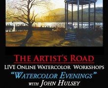 Weekly Watercolor Classes