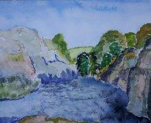 River Gorge, Paziols