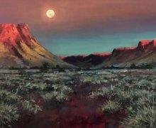 Pilbara Moonset