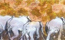 The Big Herd 220x40cm $3900