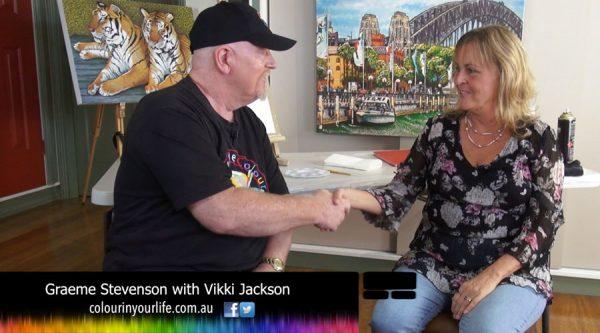 Colour In Your Vikki Jackson