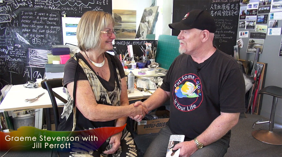 Jill Perrott meets Graeme Stevenson