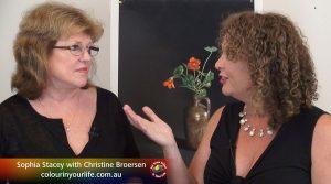 Christine Broersen meets Sophia Stacey