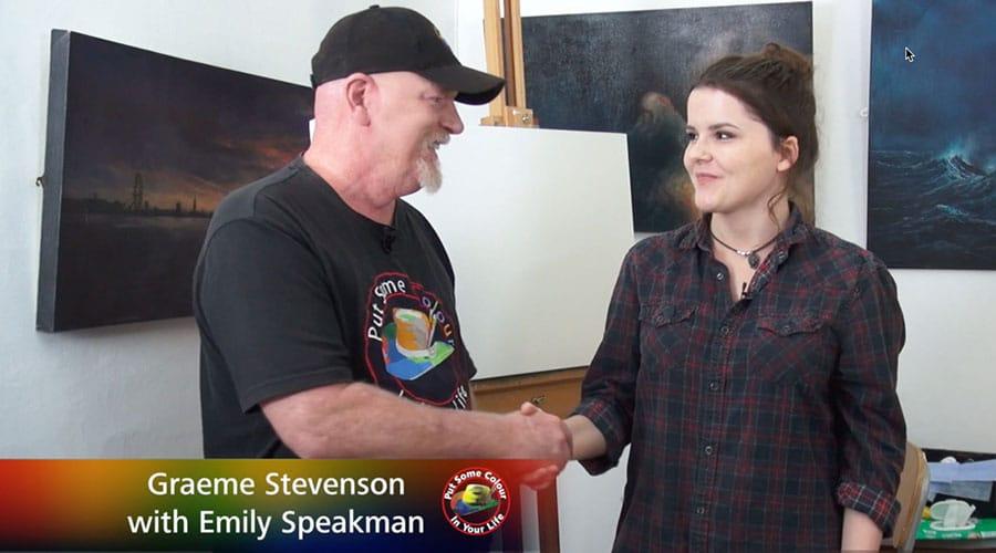 Emily Speakman meets Graeme Stevenson