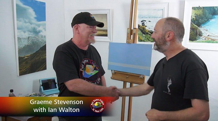 Graeme Stevenson meets Ian WAlton