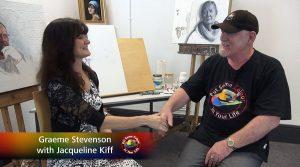 Graeme Stevenson meets Jacqui Kiff