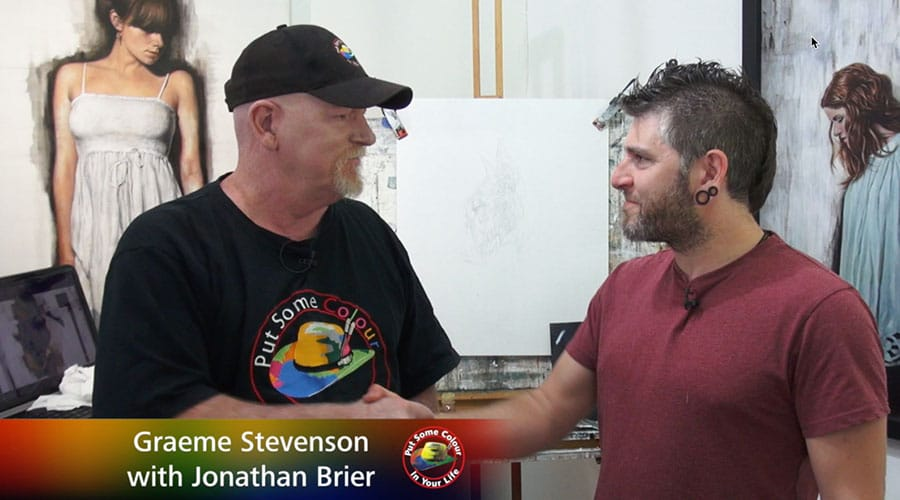 Johnathan Brier meets Graeme Stevenson
