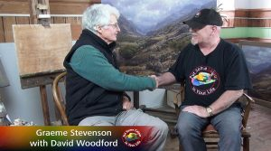 David Woodford meets Graeme Stevenson on Colour In your Life