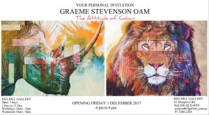 Graeme's exhibition Red Hill Gallery Brisbane 2017 2