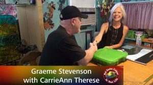 Graeme Stevenson Meets CarrieAnn Therese