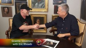 Eric Rhoads meets Graeme Stevenson at Colour In Your Life