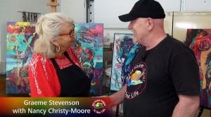 Nancy Christy-Moore meets Graeme Stevenson