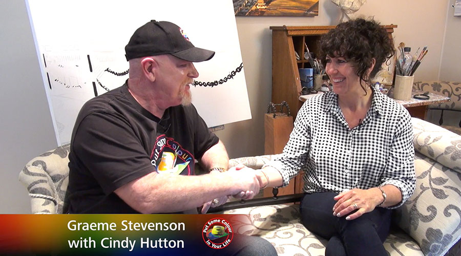 Graeme Stevenson meets Cindy Hutton