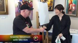 Graeme Stevenson meets Min Kim