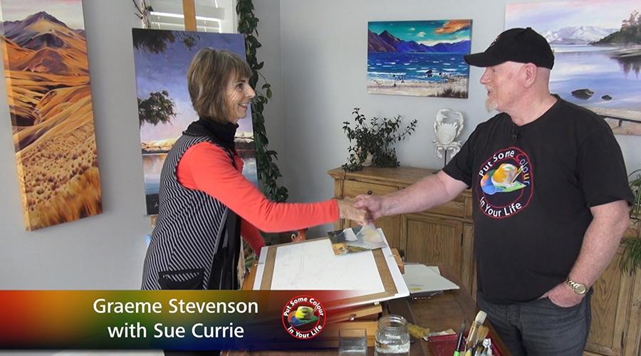 Sue Currie meets Graeme Stevenson