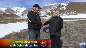 Debbie Lambert meets Graeme Stevenson