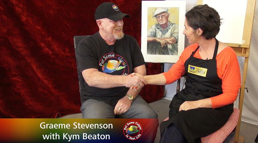 Kym Beaton meets Graeme Stevenson