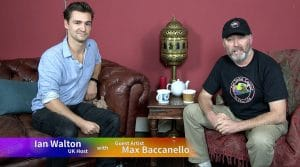Maximillion Baccanello meets Ian Walton on Graeme Stevensons Colour in Your Life