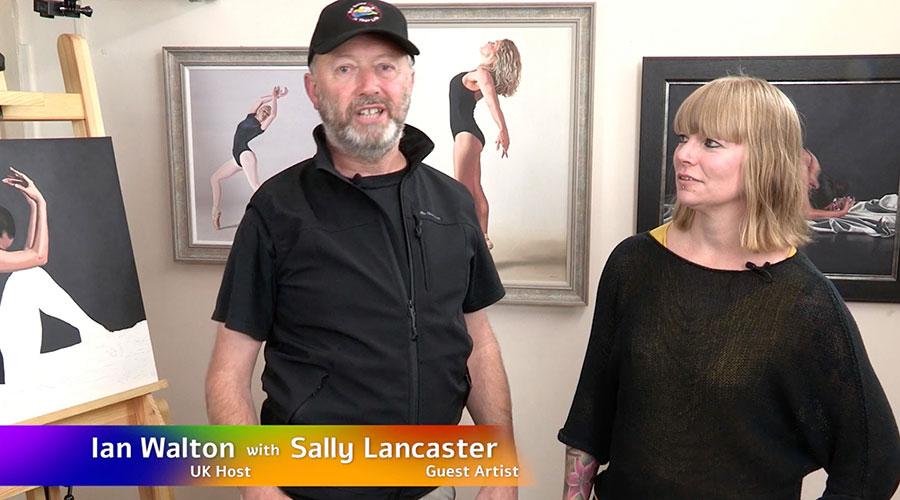Sally Lancaster meets Ian Walton on Graeme Stevenson's Colour In Your life