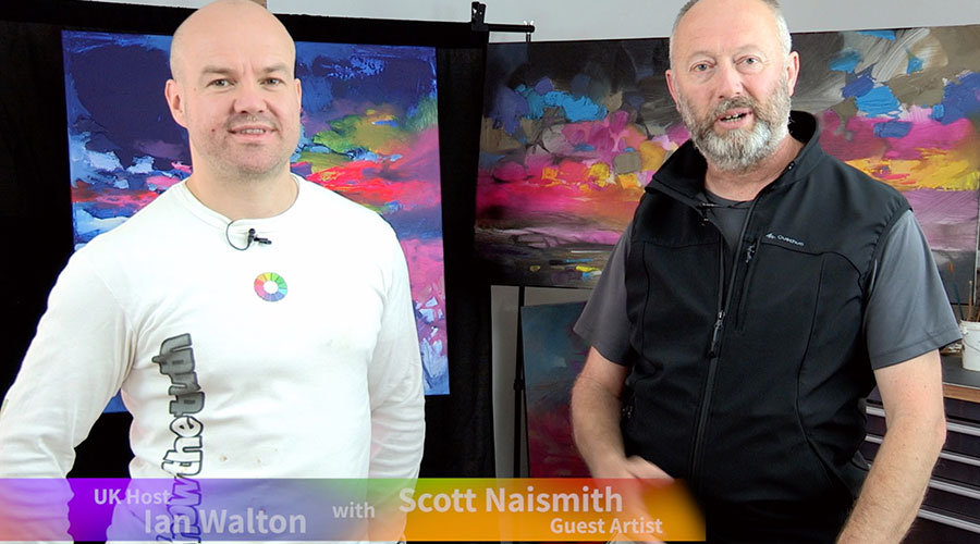 Scott Naismith meets Ian Walton on Graeme Stevensons Colour In Your Life