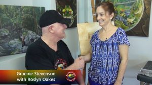Roslyn Oakes meets Graeme Stevenson on Colour in Your Life
