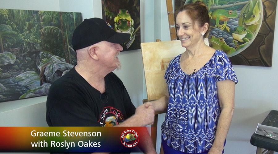 Roslyn Oakes meets Graeme Stevenson on Colour in Your Life