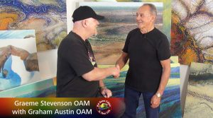 Gram Austim OAM meets Graeme Stevenson OAM on Colour in Your Life