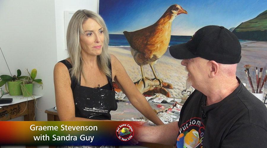 Sandra Guy meets Graeme Stevenson on Colour In Your Life